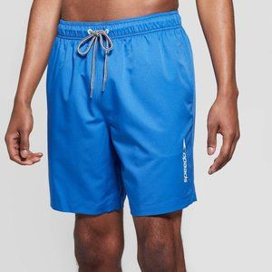 Speedo Men's Elastic Waist Pull On Swim Trunks XXL